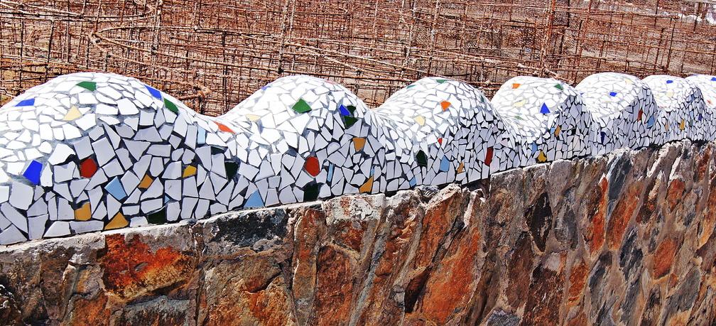 Mosaik Puerto mogan Gran canaria