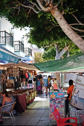 Markt puerto de magan gran canaria