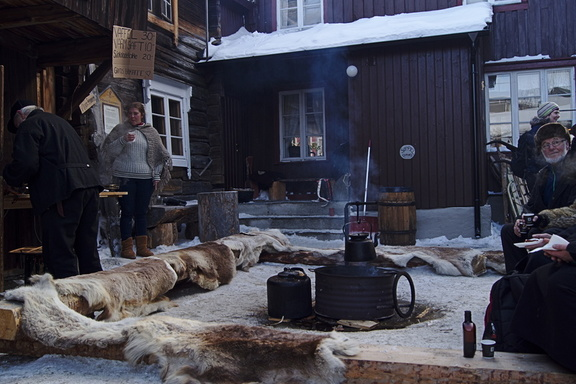 Røros martnan norwegische Idylle