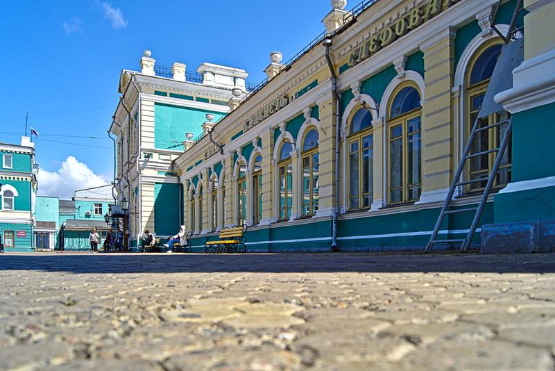 Bahnhof in Irkutsk