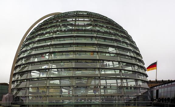 Reichstagskuppel in Berlin